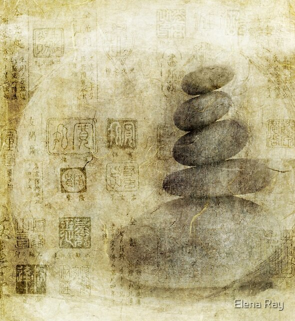 Stone Meditation by Elena Ray