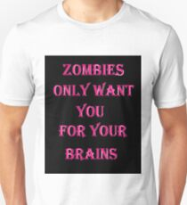 zombie brains Unisex T-Shirt