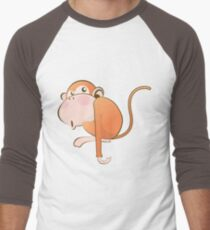 Funny Monkey Men's Baseball ¾ T-Shirt