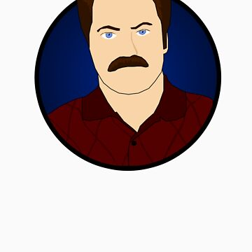 Ron Swanson by Micksergeant