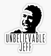 Unbelievable Jeff - Chris Kamara Sticker