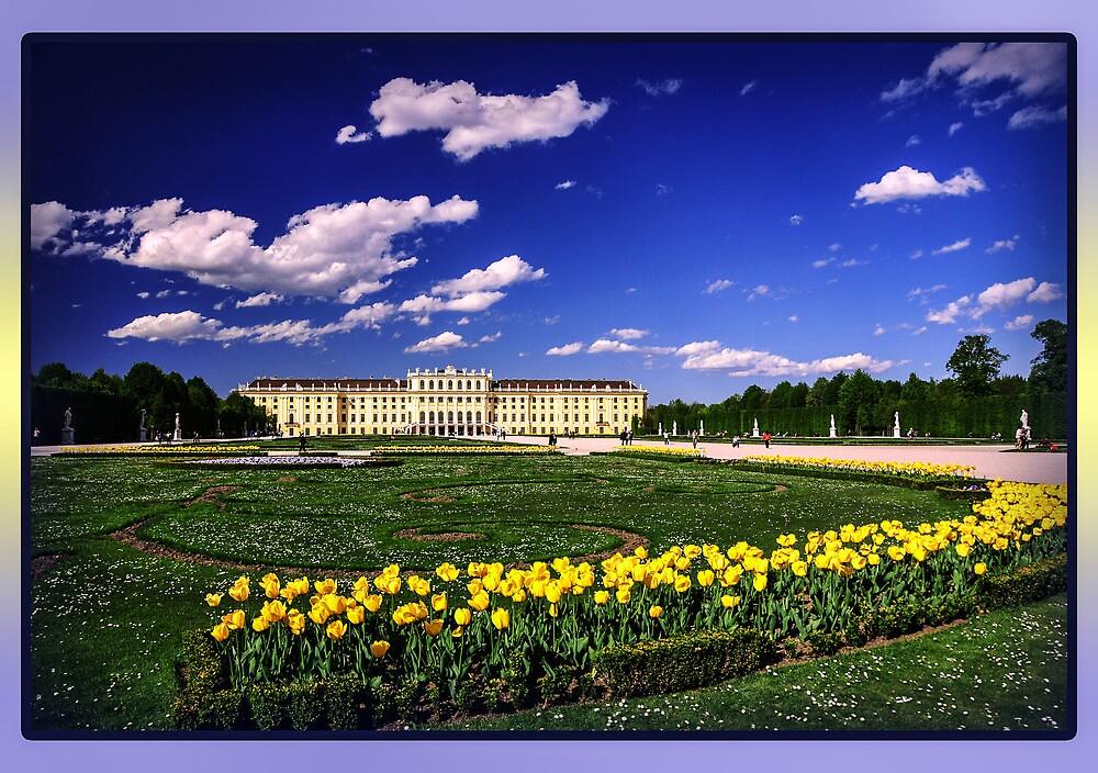 Schönbrunn Palace by amira