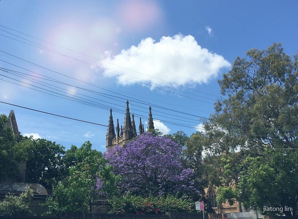 blue sky by jiatong lin