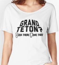 Grand Teton Mountain Climbing Women's Relaxed Fit T-Shirt