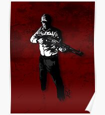 Bill - Zombie Apocalypse Survivor Poster