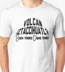 Volcan Iztaccihuatl Mountain Climbing Unisex T-Shirt