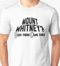 Mount Whitney Mountain Climbing T-Shirt