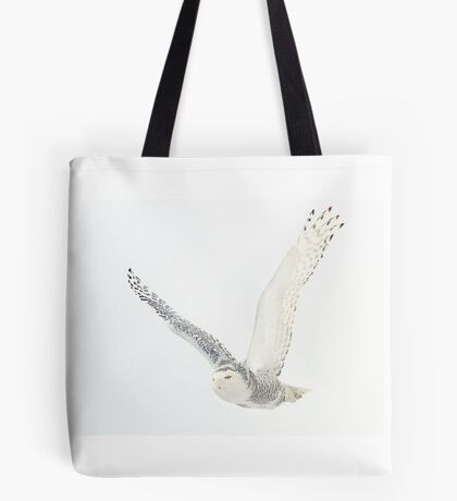 Afternoon Flight - Snowy Owl Tote Bag