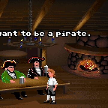 I want to be a pirate! (Monkey Island 2) by themasrix