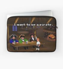 I want to be a pirate! (Monkey Island 2) Laptop Sleeve