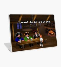 I want to be a pirate! (Monkey Island 2) Laptop Skin