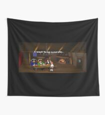 I want to be a pirate! (Monkey Island 2) Wall Tapestry