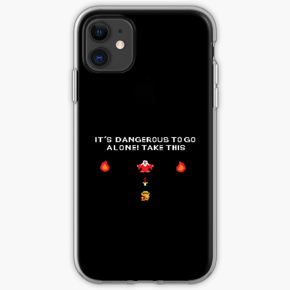 It s dangerous to go alone iphone case