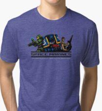 Space Marines! Tri-blend T-Shirt