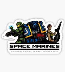 Space Marines! Sticker