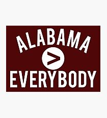 Alabama > Everybody Photographic Print