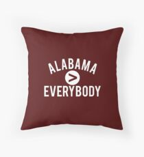 Alabama > Everybody Throw Pillow