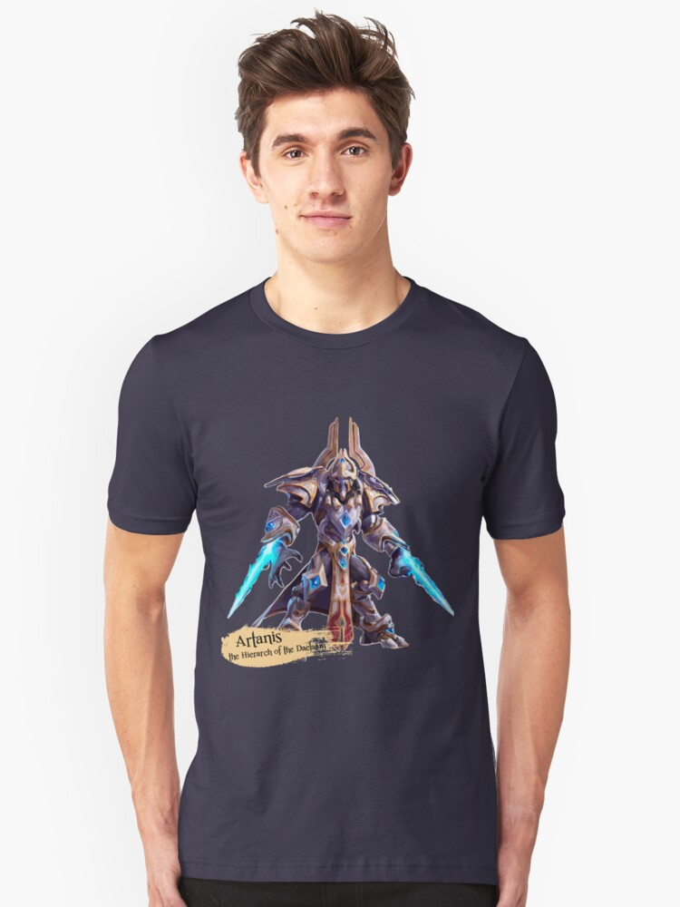 The Hierarch of the Daelaam Unisex T-Shirt Front