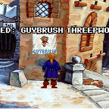 Wanted Guybrush Threepwood! (Monkey Island 2) by themasrix