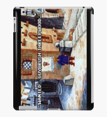 Wanted Guybrush Threepwood! (Monkey Island 2) iPad Case/Skin