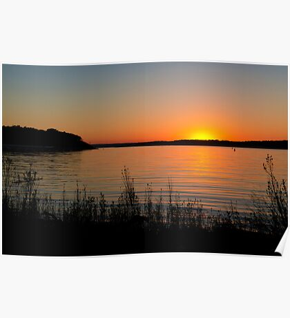 Canyon Lake Sunset Poster