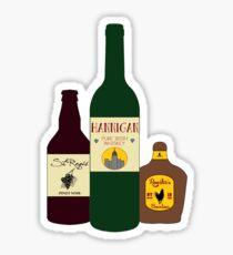 Miss Hannigan's Liquor Cabinet Sticker