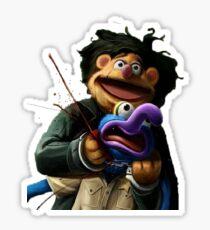 Gonzo's murder Sticker