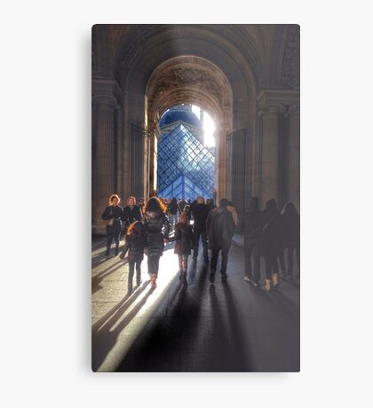 Louvre Paris Metal Print