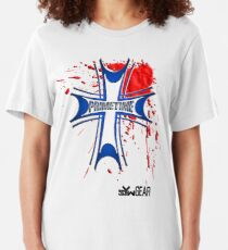 Prime Time Bloody Cross Slim Fit T-Shirt