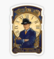 Inspector Spacetime Nouveau Sticker