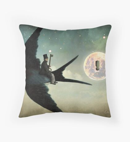 Keep your Secrets Throw Pillow
