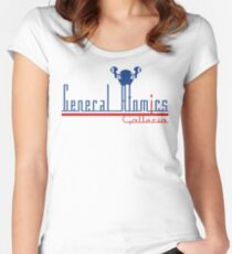 General Atomics Women's Fitted Scoop T-Shirt