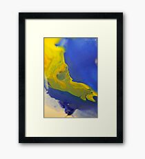 Macro Acrylic Paints  Framed Print