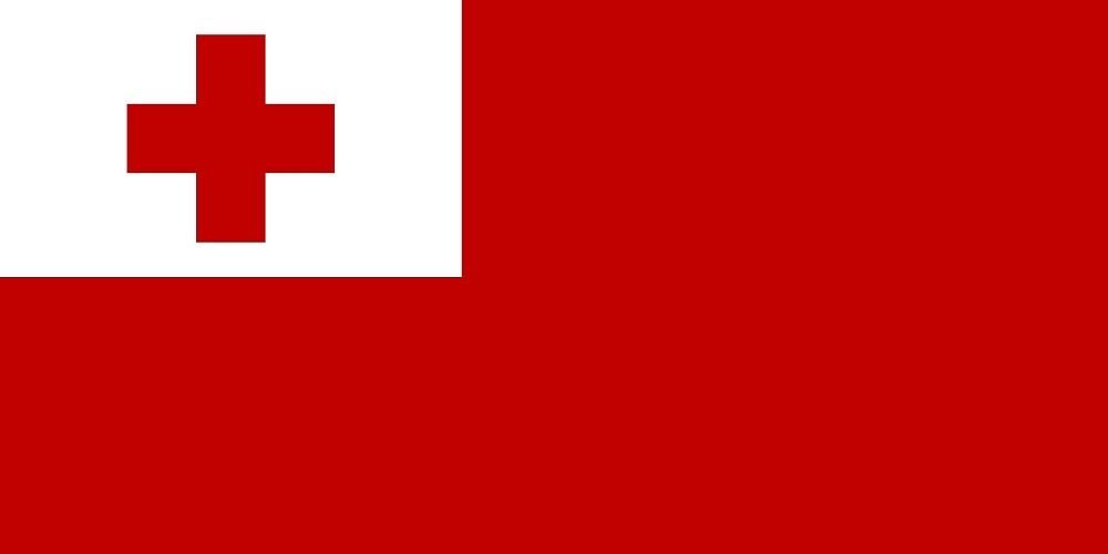 Flag of Tonga  by abbeyz71