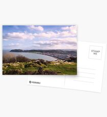 View from Pen Dinas on top of Great Orme Postcards