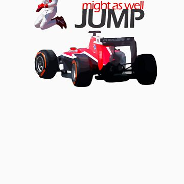 Might As Well Jump Max Chilton! by FormulaFans