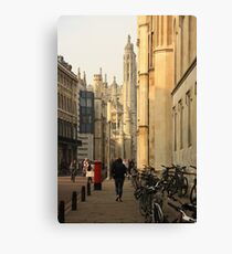 Cambridge Architecture Canvas Print
