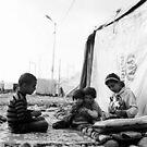 Faces of a Refugee Camp - Kowergosk #1 by Jacob Simkin