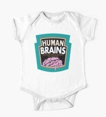 Human Brains One Piece - Short Sleeve