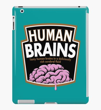 Human Brains iPad Case/Skin