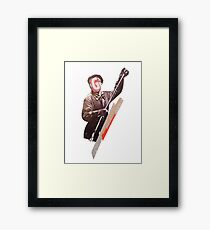 Common production  Framed Print
