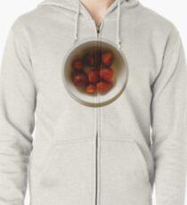 berry! Zipped Hoodie