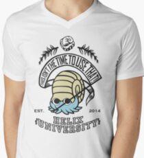 Helix Fossil University 2 Men's V-Neck T-Shirt