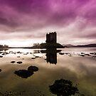 Castle Stalker Scotland by Gary Power