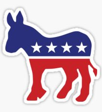 Democrat Original Donkey Sticker
