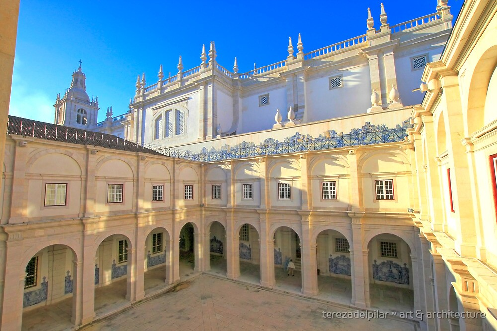 Monastery of São Vicente de Fora by terezadelpilar ~ art & architecture