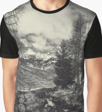 Timeless Mountains Graphic T-Shirt