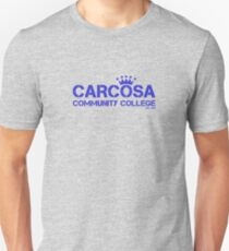 Carcosa Community College Blue T-Shirt