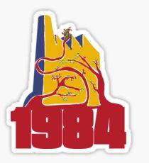 ORWELL 1984 Sticker