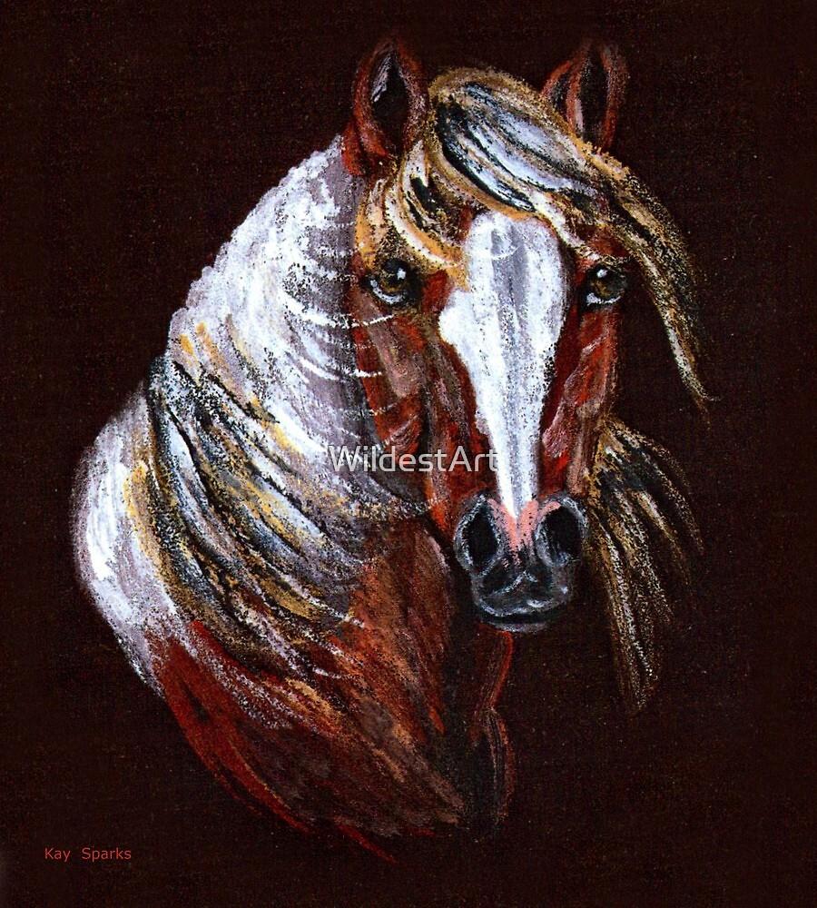 Mustang Pinto by WildestArt